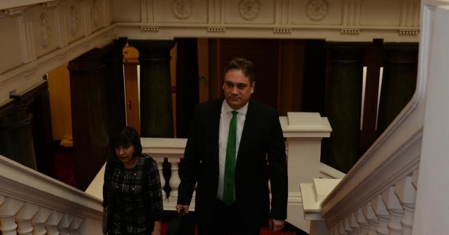 Народното събрание избра Пламен Георгиев Димитров за председател на Комисията