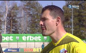 Играчът на мача Галев: Беше топло и не стана хубав мач
