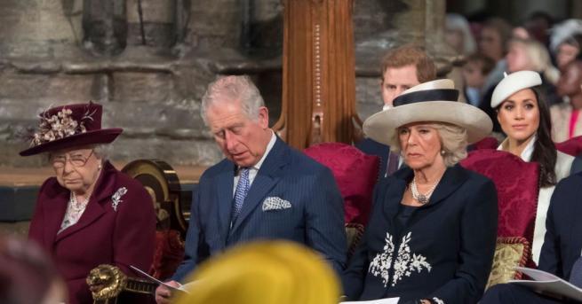 Годеницата на принц Хари, бившата американска актриса Меган Маркъл, присъства