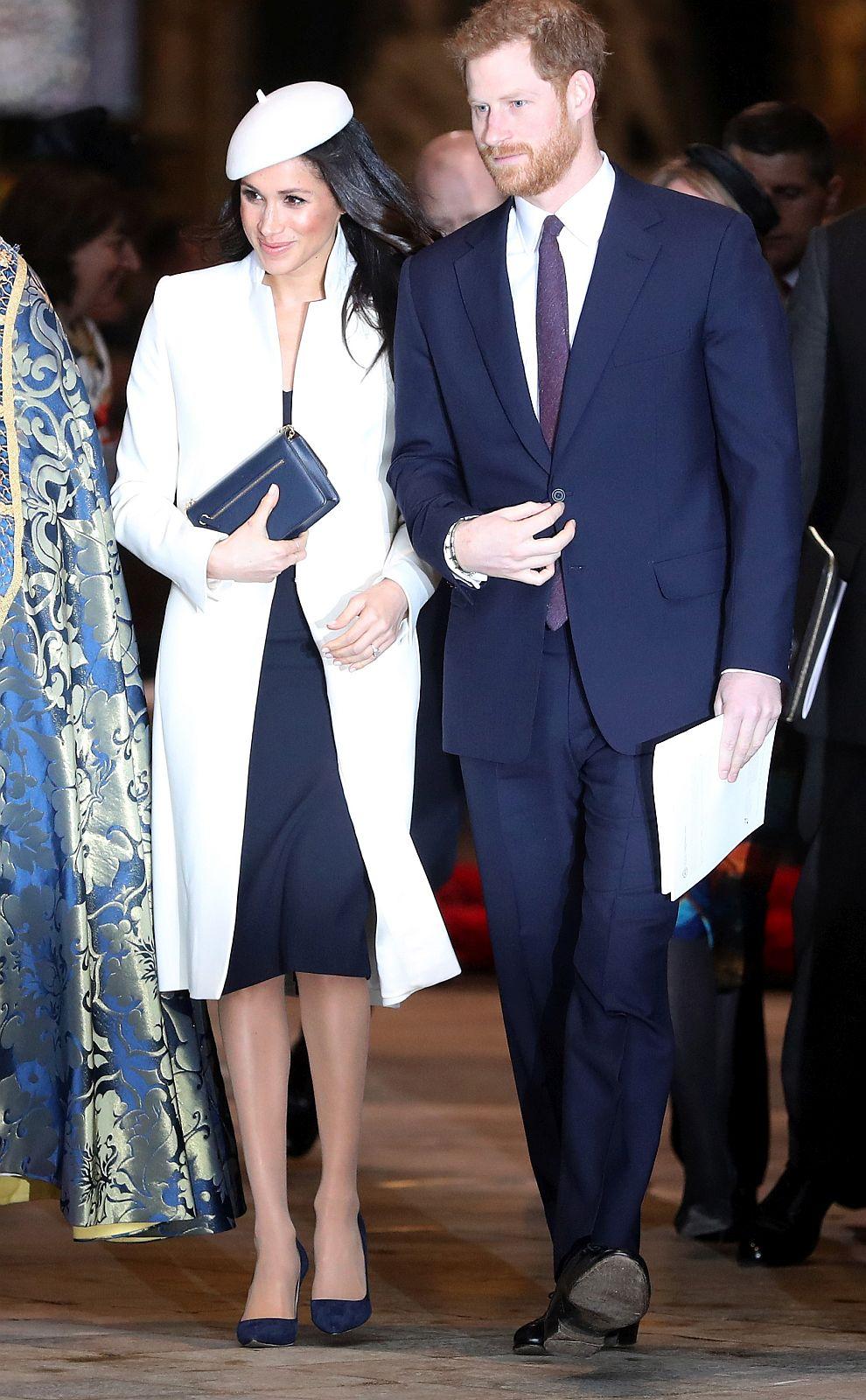 Принц Хари и Меган Маркъл на тържественото честване на Деня на Общността на нациите