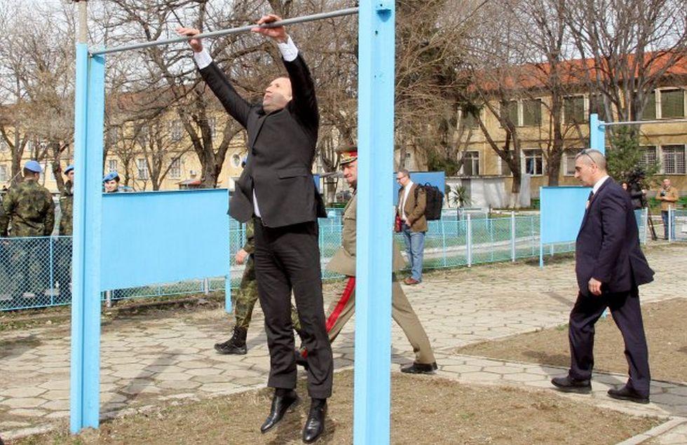 Румен Радев в Пловдив<br> <br> Източник: Наташа Манева, marica.bg