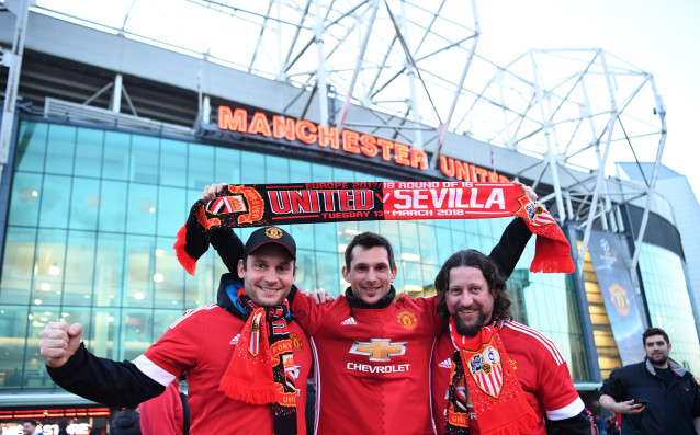 Манчестър Юнайтед се изправя срещу Севиля в осминафиналния мач реванш