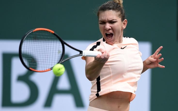 Симона Халеп стигна четвъртфиналите в Индиън Уелс