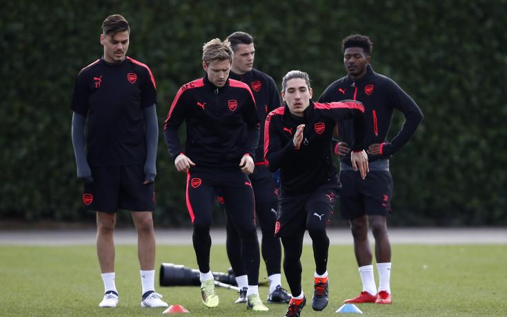 Арсенал в почти пълна бойна готовност за Милан