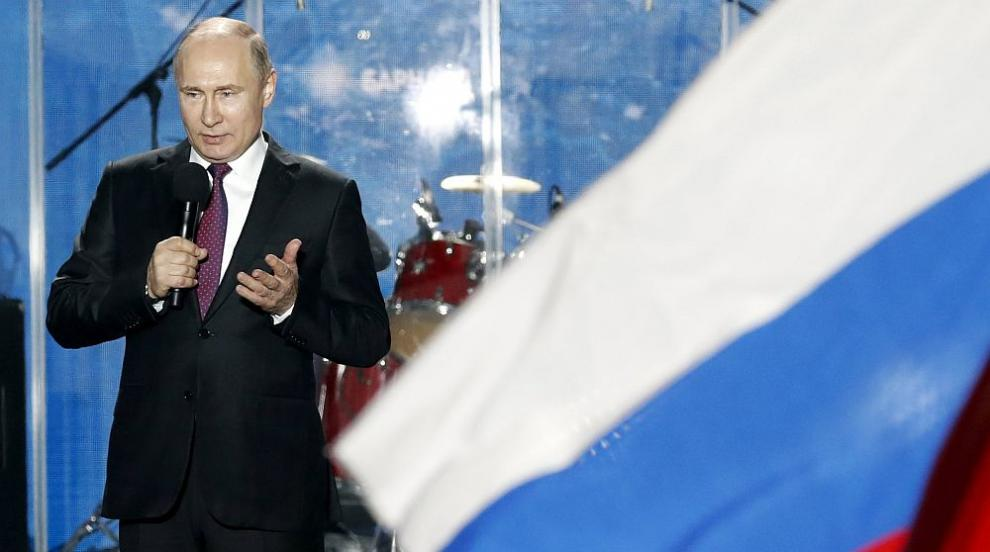 Путин посети Крим (ВИДЕО)