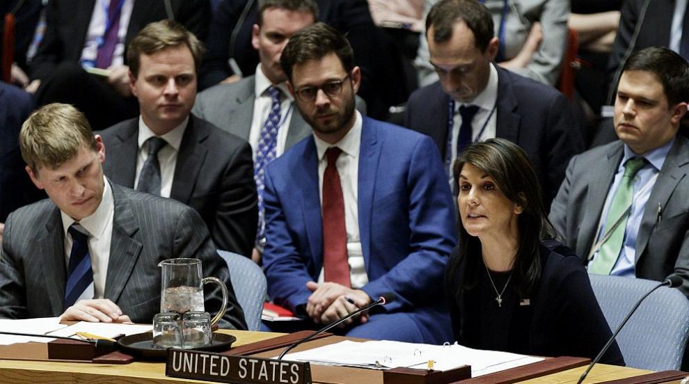 САЩ вярват, че Русия е отговорна за химическата атака срещу Скрипал