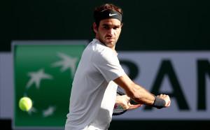 Федерер пречупи Шарди и е на 1/4-финал в Индиън Уелс