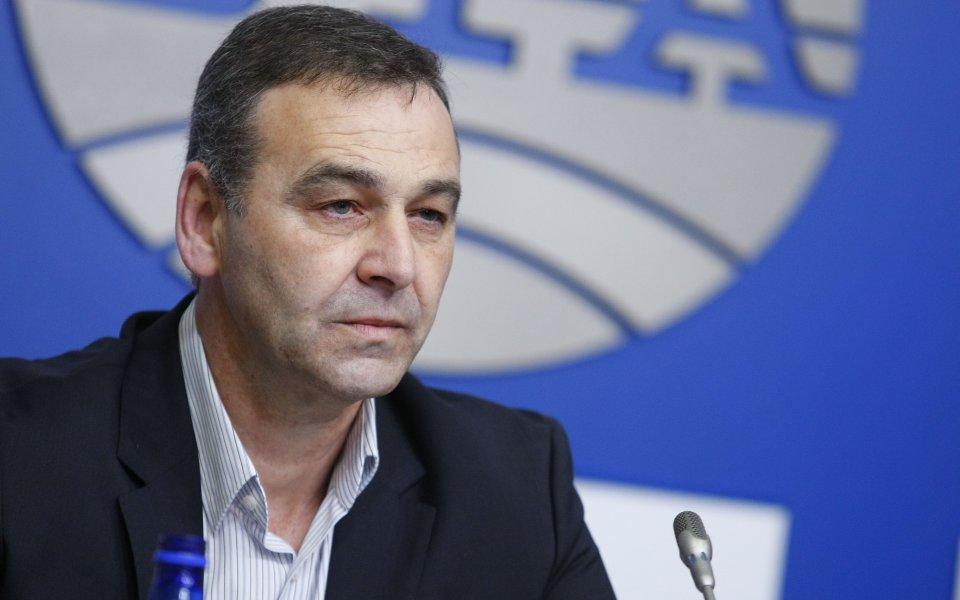 Бившият защитник и председател на УС на Левски Николай Илиев
