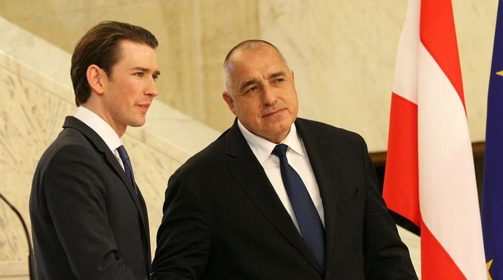 Турция и отношенията с нея - тема на разговора между Борисов и австрийския...