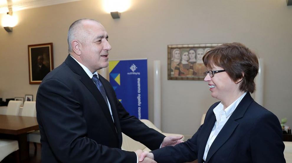 Борисов и Цацаров се срещнаха с бъдещия изпълнителен директор на Европол...