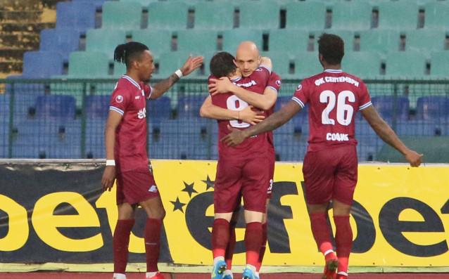 Снимка: Будинов вкара първия си гол за Септември, стана и Играч на мача