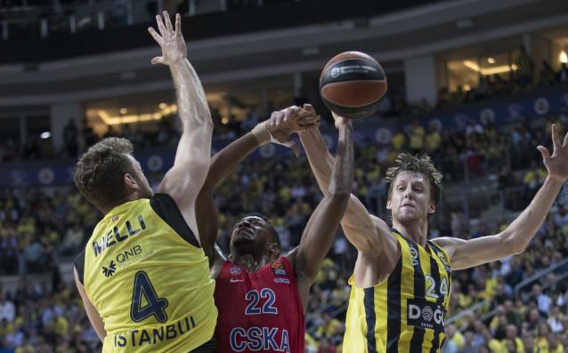 Отборът на ЦСКА Москва победи като гост Фенербахче в Истанбул