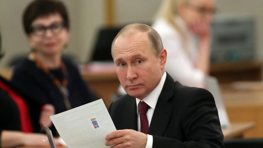 Близо 60% избирателна активност в Русия, расте с всеки изминал час