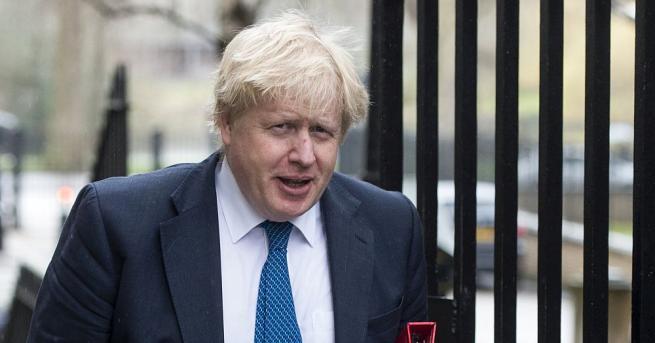 Британският министър на външните работи Борис Джонсън заяви в интервю