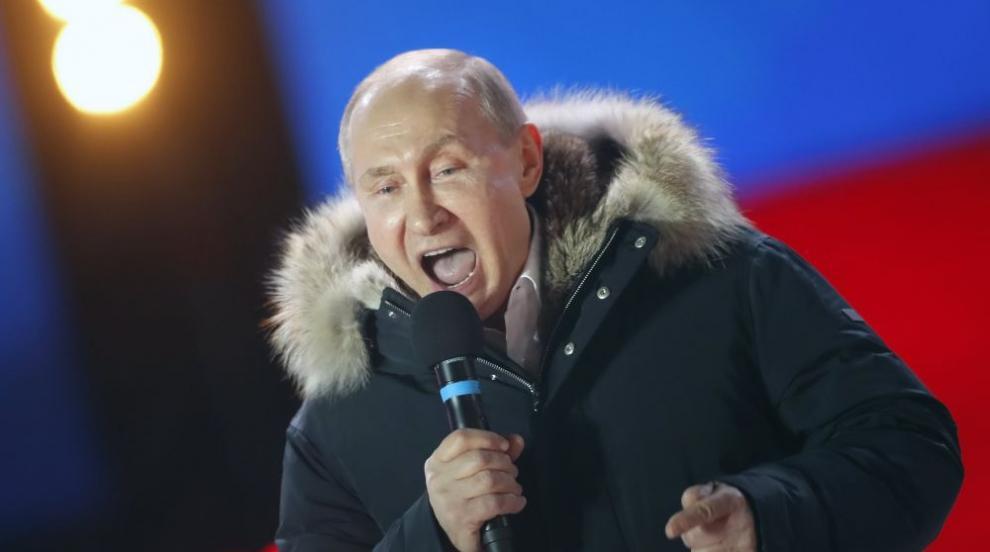 Путин: Ще продължим да работим твърдо, обречени сме на успех (ВИДЕО)