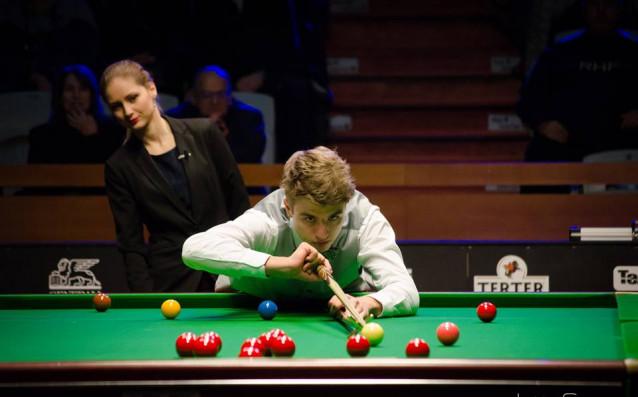 Александър Хубанов<strong> източник: bulgariansnooker.com, автор: Жаклина Симова</strong>