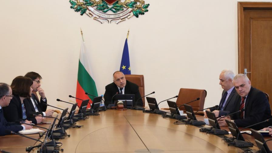 Правителственото заседание, свикано от премиера Бойко Борисов