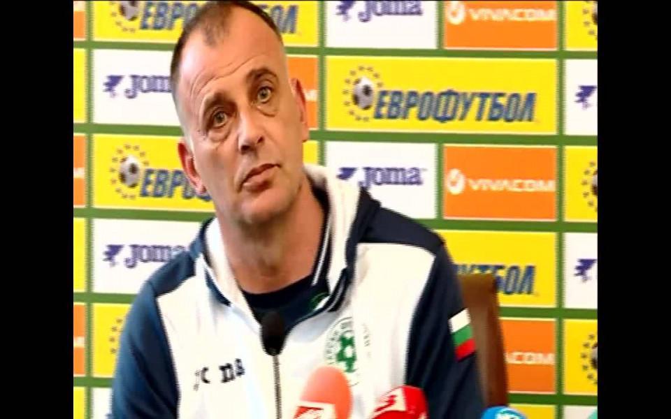 Здравков: Много от играчите са готови за мъжкия национален отбор
