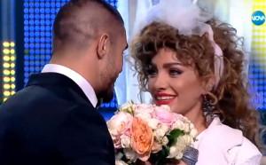 ММА боец предложи брак на Златка Райкова на сцената на ''Като две капки вода''!