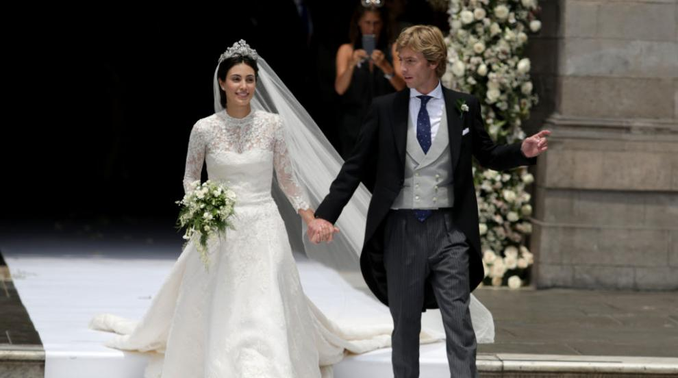 """Кралска сватба: Принц Кристиан и прелестната Алесандра си казаха """"да"""" в..."""