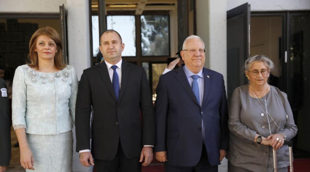 Радев в Израел: Принос за успехите на страната имат и българските евреи...