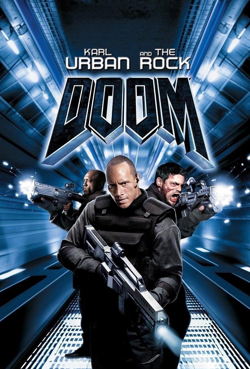 Doom – Доста преди да се превърне един от най-следваните хора на планетата в социалните мрежи и на практика най-голямата филмова звезда в света, Дуейн Джонсън бе замесен в треторазрядни екшъни като Doom, който до голяма степен маркира най-ниската точка от кариерата му.
