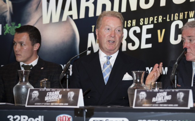 Един от най-големите промоутъри в света на бокса Франк Уорън