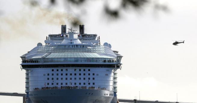 Най-големият круизен корабв света