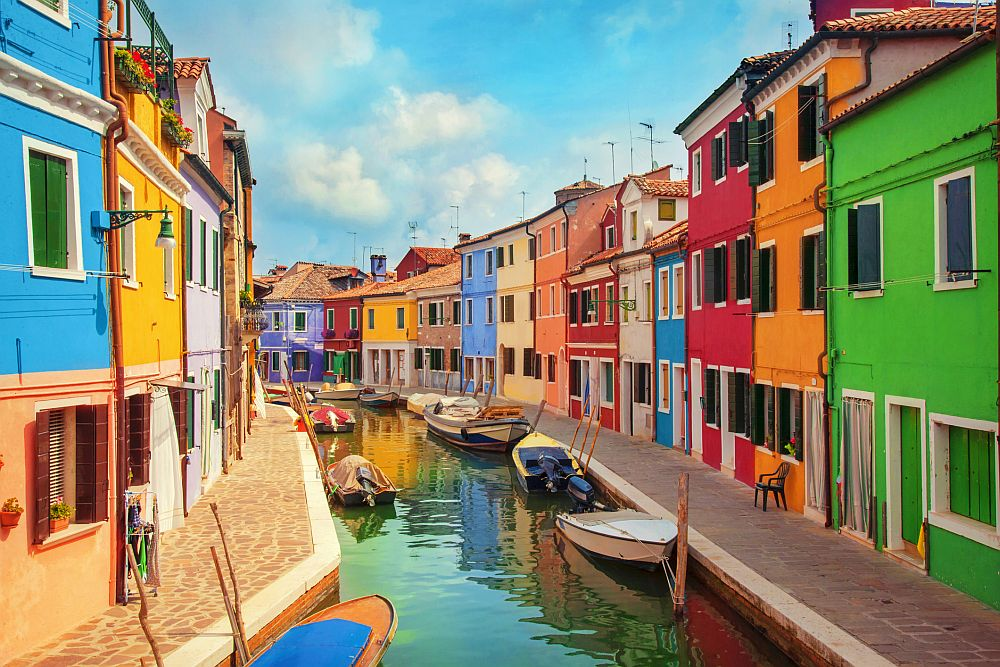 Остров Бурано край Венеция, Италия
