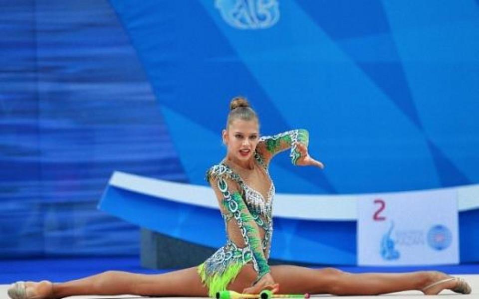 Без световната шампионка на СК по художествена гимнастика в София