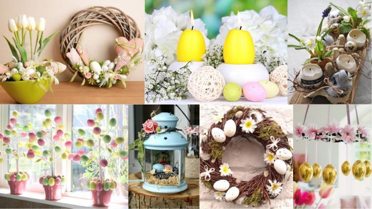 63-те най-добри великденски идеи: прекрасни хрумки за боядисването на яйца, декорацията на дома и украсата на масата