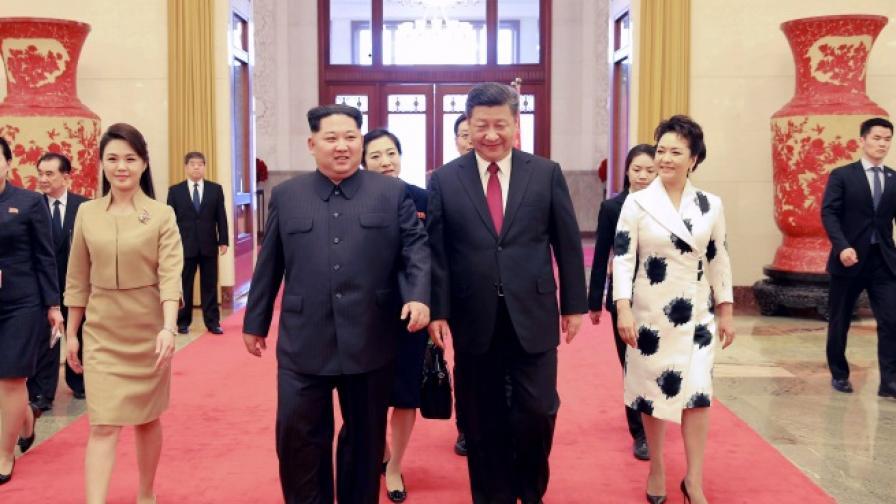 Слуховете се потвърдиха: Ким Чен-ун в Пекин