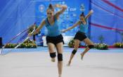 Официални тренировки на гимнастичките преди Световната купа<strong> източник: LAP.bg</strong>
