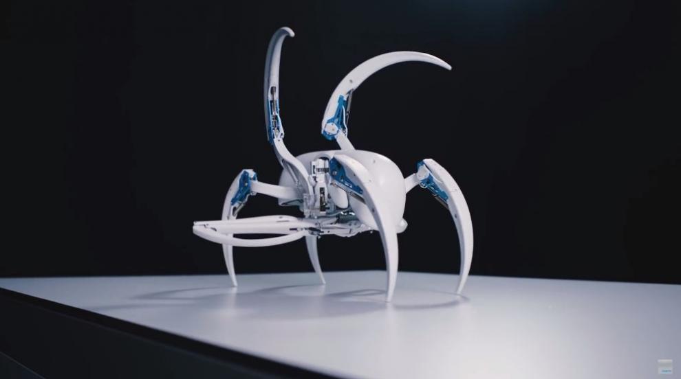 Германски учени конструираха ужасяващ паяк-робот (СНИМКИ/ВИДЕО)