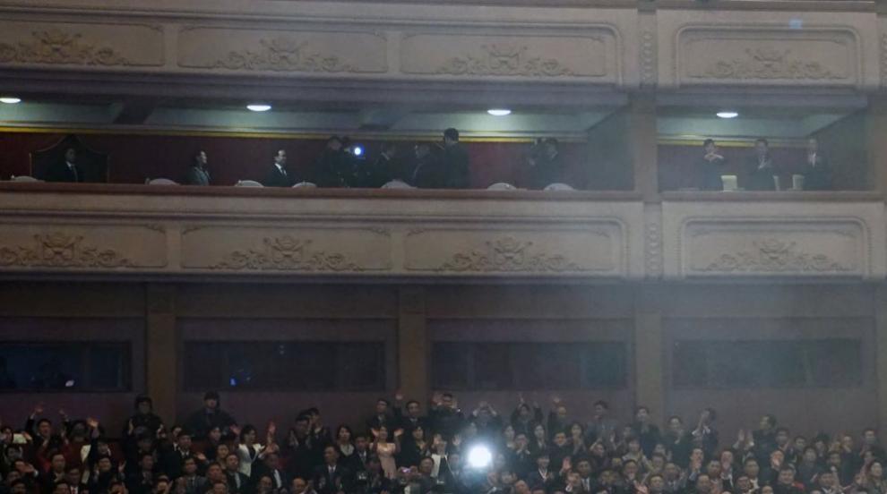 Ким Чен-ун се развълнувал дълбоко от южнокорейския концерт (ВИДЕО)