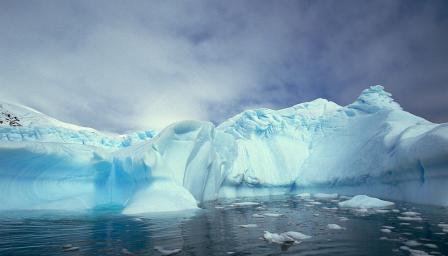 Чуйте зловещата песен на ледниците в Антарктида (ВИДЕО)