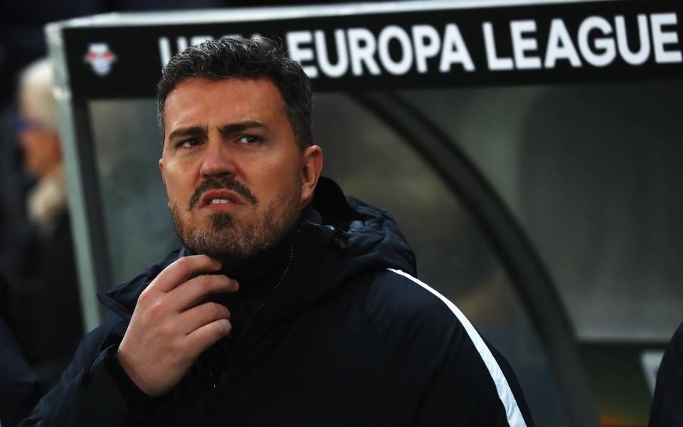 """И треньорът на Олимпиакос """"се разпусна"""" след играчите"""