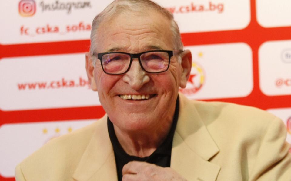 Димитър Пенев отказа всякакви коментари относно рокадите в ЦСКА преди