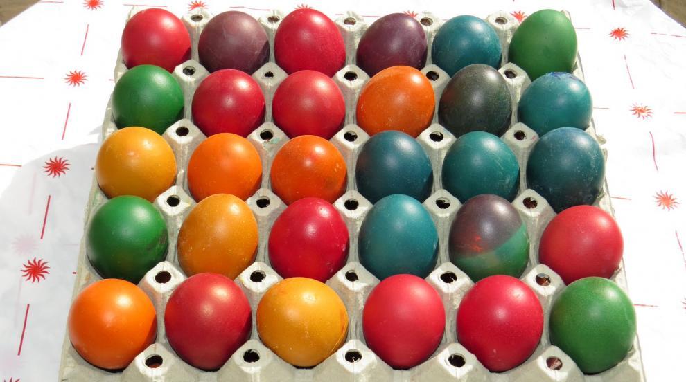 Във Франция все по-рядко боядисват яйца, в Германия си ги купуват