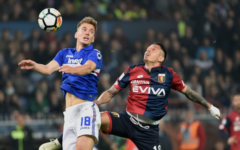 Малко игрово време за Гълъбинов и без победител в дербито на Генуа