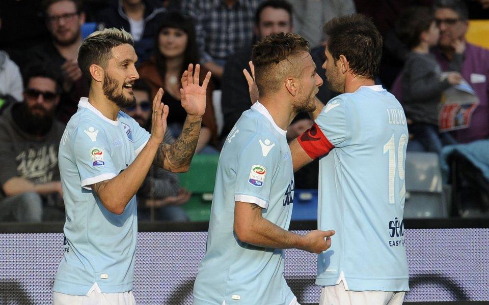Лацио се възползва от грешките на Рома и Интер