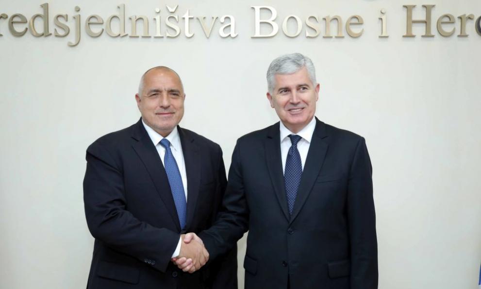 Драган Чович и Бойко Борисов