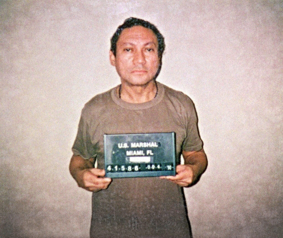Той е разменял наркотици и оръжие с Никарагуа и след свалянето му от власт е осъден на 30 години затвор в Щатите. Екстрадиран е през 2011 година в родината си, където да долежи присъдата си.