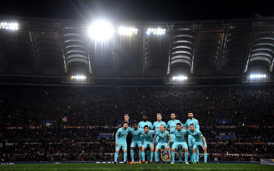 Много слаб Барселона се сгромоляса, Рома с подвиг
