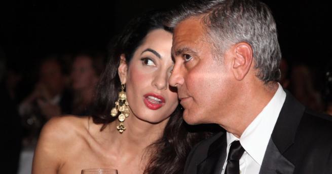 Появиха се кадри от катастрофата, при която пострада Джордж Клуни.