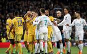 Полицията разтървала играчите на Реал и Ювентус