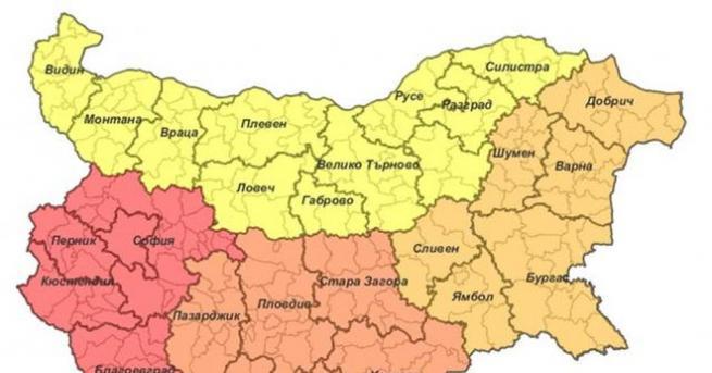 Въвеждането на новото райониране на страната ще изисква провеждане на