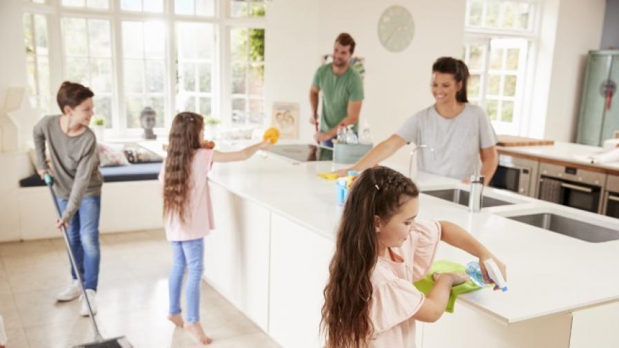 Как да чистим къщата по-бързо (СНИМКИ)
