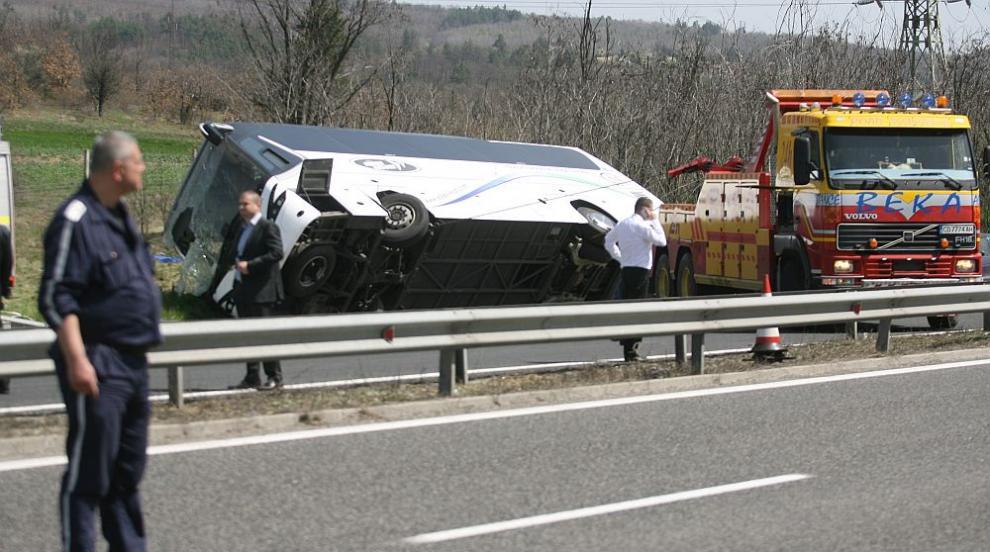 """Пътник от автобуса след трагедията на """"Тракия"""": Ужасна гледка беше,..."""