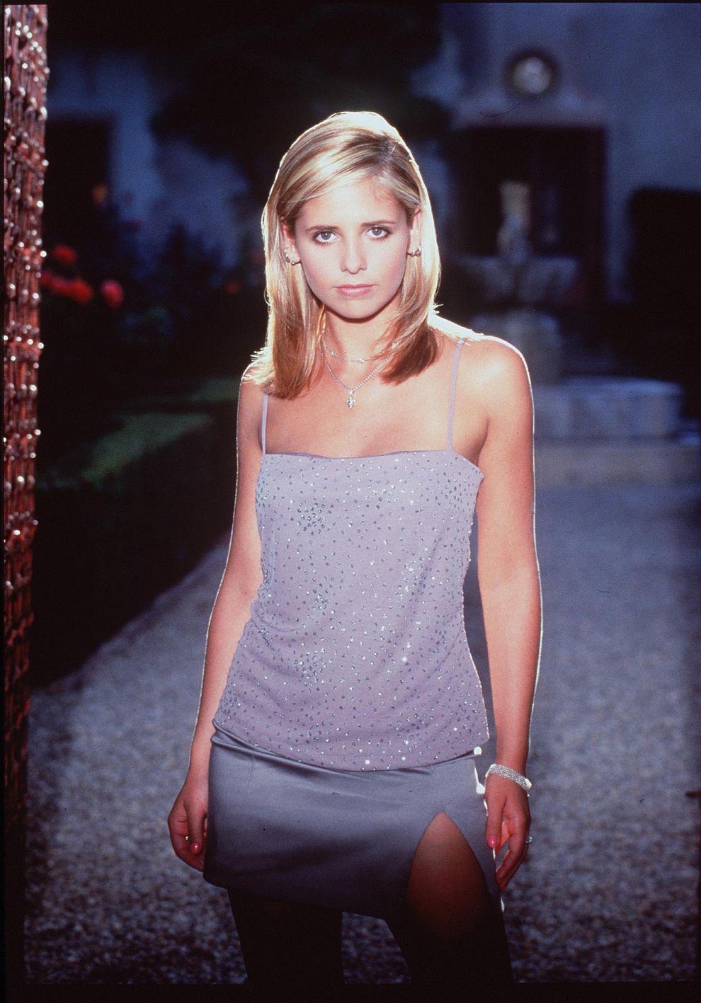 Сара Мишел Гелар през 1998 година